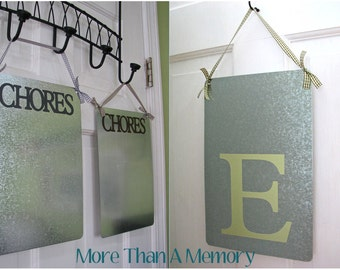 "Large ""CHORES"" OR Initial Magnet Board"