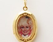 Dolly Parton Lucky Locket Necklace