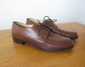 vintage Enzo Angiolini Leather Oxfords Women's 8