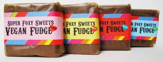 VEGAN Fudge: 1/2 lb. Combo Gift Box