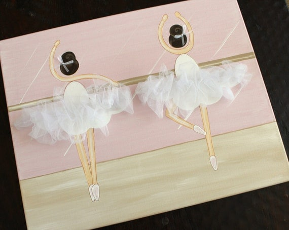 La Ballerina Sisters, 16x20 READY TO SHIP