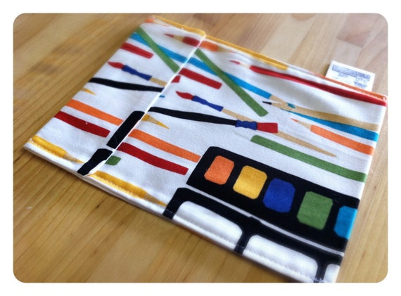 50% OFF 6x7 Reusable Snack Bag - Art Class