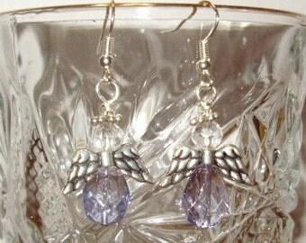 Crystal Angels Earrings