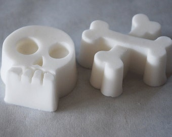 Skull and Cross Bones Soap Favors Set of 6