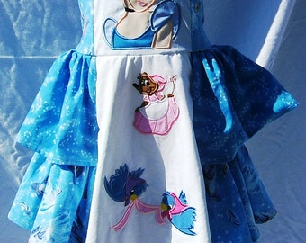 Boutique Princess Cinderella & Friends Jumper Dress