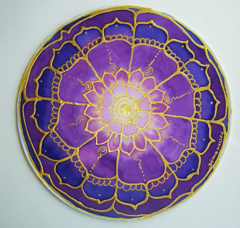 Flower Mandala Crown Chakra chakra art lotus by ...