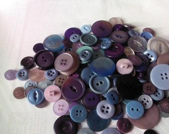 De-Stash Purple and Blue Buttons