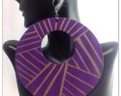 Reserved for B Mama Jumbo Purple/Gold