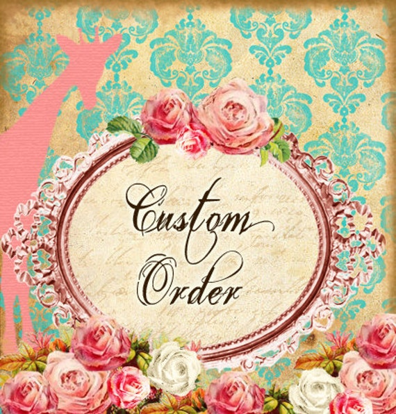 Custom Order Reserved Listing for Dustin Benge - Two Fall Flower Girl Dresses