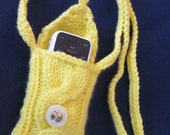Hand Knit iPhone Droid iPhone Droid iPod Touch Android Smartphone Cozy iPhone Case, Android Cozy Case, Blackberry holder, Incredible Sweater