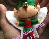 Conker the Christmas Fairy Pocket Size Fairy - a Fairy Shack Original