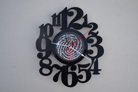 Vinyl Record Album Wall Clock (artist is Duran Duran)