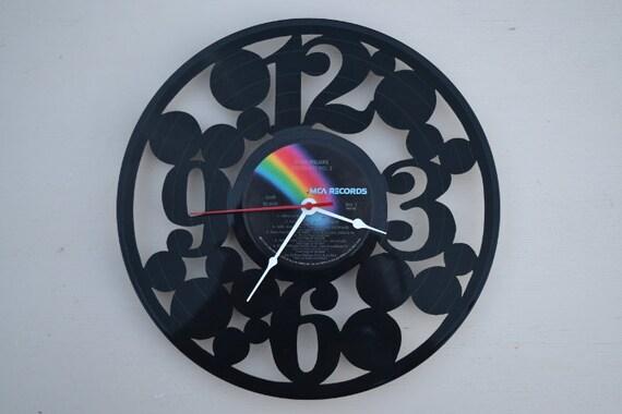 Vinyl Record Album Wall Clock (artist is Roger Williams )