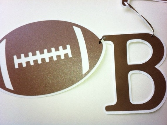 Football Party Banner, Sports Party Decorations