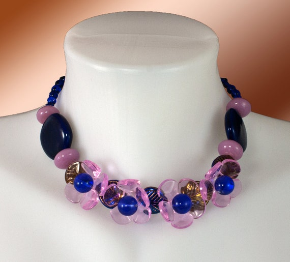 Necklace and earring set - Little Garden