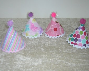 Party Hats for American Girl Dolls (Six)
