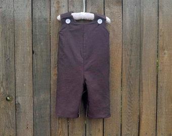 Boys jon jon longalls, many colors cotton, fully lined, eco-friendly... size 3m,6m,9m,12m,18m,2t,3t,4t