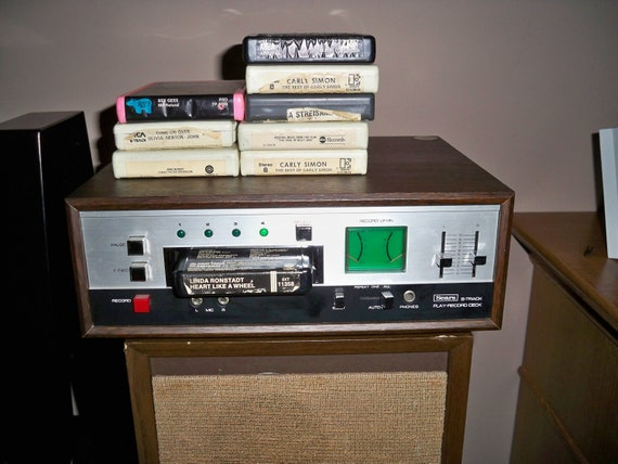 Vintage Sears 8 Track Tape Player Recorder By
