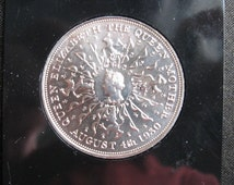 British Royal Family Commemorative Coin The Queen Mother