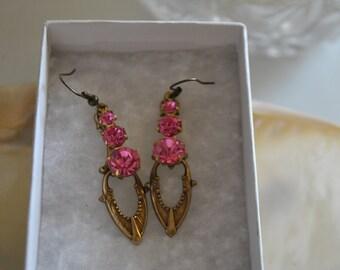 hot Pink swarosky chandelier