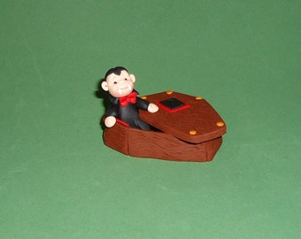 Polymer Clay Dracula's Coffin
