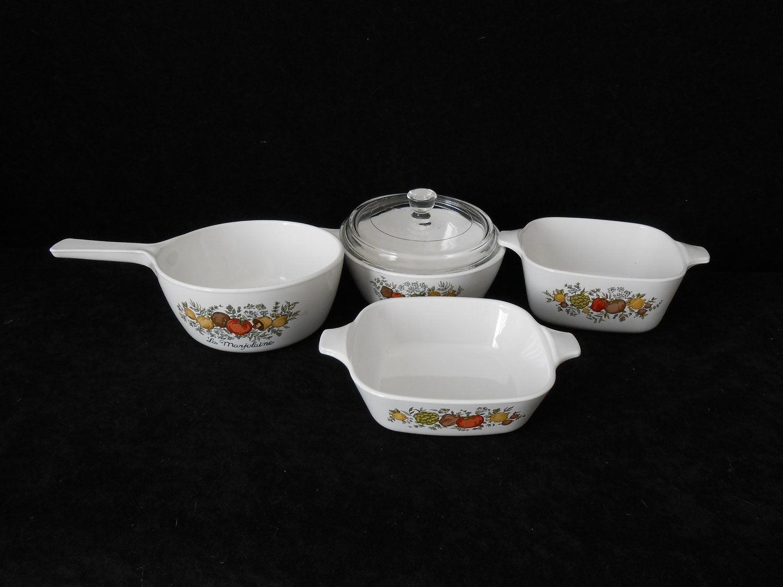 Vintage Corningware Spice Of Life Cooking Dishes Vintage