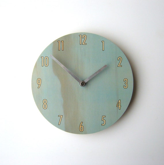 Objectify Blue Shade Wall Clock
