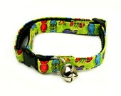 Cat Collar - Fish Fish Everywhere