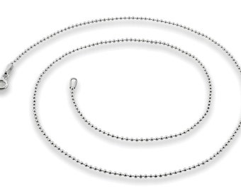 """UPGRADE For A 20""""  Sterling Silver Chain"""