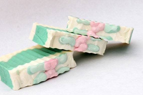 Clearance-Mistletoe   Handmade Soap/ Cold Process Soap/ Vegan, Holiday Blend ,