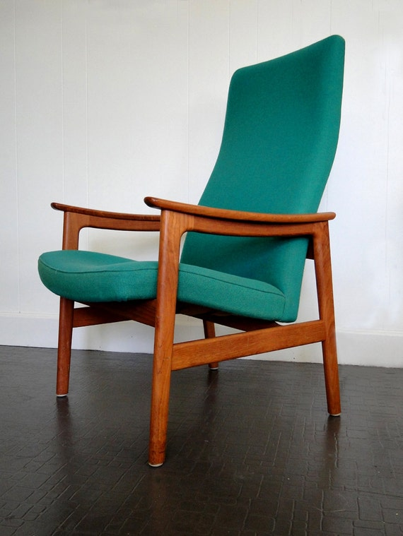 RESERVED for Vic3-Danish Teak Mid Century Hong Stole Side Chair