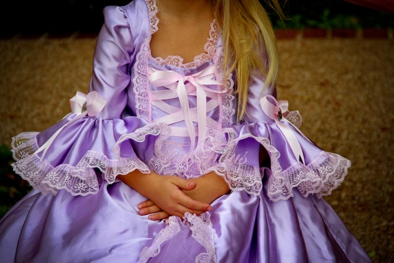 Rapunzel Costume  - Halloween 2012 Collection by FabTutus, any size available