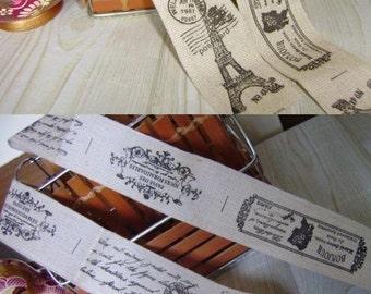 Retro Style Handmade Cotton Ribbon