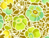 36151 Erin McMorris Wildwood  Sophies Garden in Green color- 1 yard