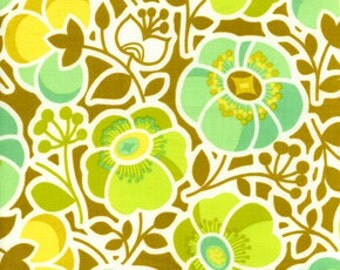 36151 Erin McMorris Wildwood  Sophies Garden in Green color- 1 yard