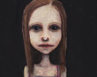 Elu, print on canvas