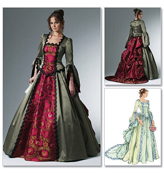 McCall's Victorian Dress Costume Pattern 6097