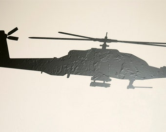 Apache Helicopter - Wall Decal