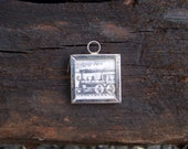 Early 1900's Steam Train Charm