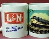 RAILROAD COFFEE MUG  - Louisville and Nashville Railroad On Biloxi Bridge