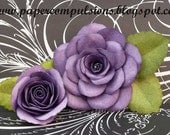 """Handmade Paper Flower: """"Open rose"""""""