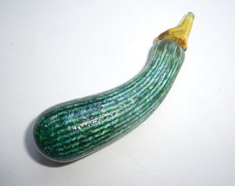 SALE ////// Glass vegetable Gourd 4 :DISASTER RELIEF