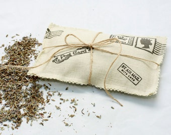 Lavender Sachet Letter,  Home Decor, Scented Sachets, Aromatherapy, Natural,  ohtteam
