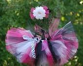 """Tutus: A zebra print tutu for your """"little princess...""""/ custom tutu/ newborn tutu/ toddler tutu- newborn-12 mos, 1,2,3,4,5 &up"""