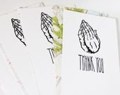 Holy Moley Thank You cards, set of 4