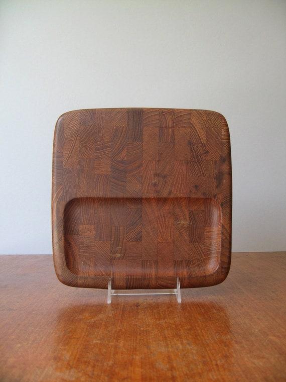 Vintage Dansk Quistgaard Teak Cutting Board / Serving Tray