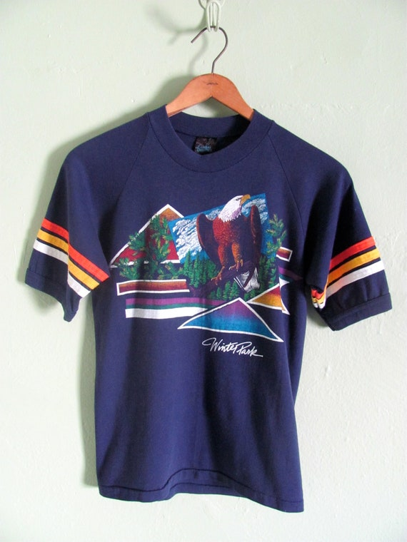 ON HOLD - Bald Eagle T-SHIRT 1980s souvenir from Winter Park