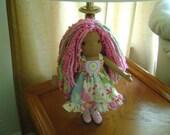 Lolly Dollies 14 inch small scale Waldorf Doll- Ready yo ship