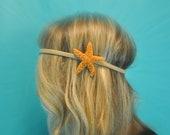 Starfish Headband Starfish Headwrap Mermaid Hair