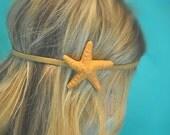 Artifical Starfish Headband. Fake Starfish, Clay Starfish Animal Friendly, Mermaid Hair Really Cute & Fun